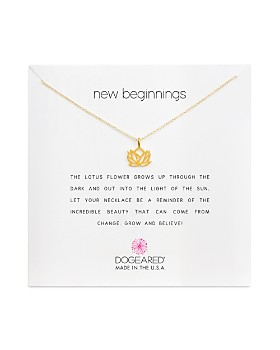 Dogeared - New Beginnings Necklace, 16""