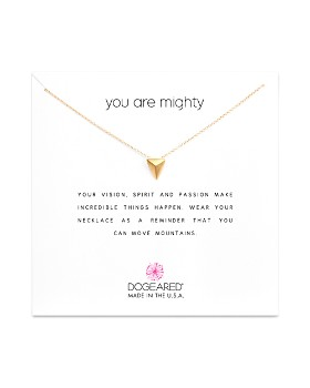 """Dogeared - You Are Mighty Necklace, 16"""""""