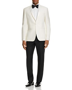 John Varvatos Star USA Jacket and Trousers, Turnbull & Asser Tie & Hugo Boss Loafers - Bloomingdale's_0
