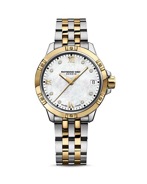 Raymond Weil - Tango Two Tone Watch with Diamonds, 30mm