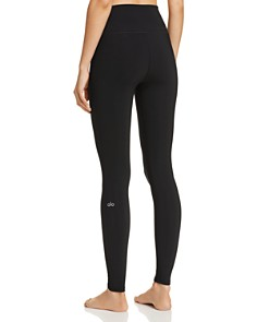 Alo Yoga - High-Waist Ripped Warrior Leggings