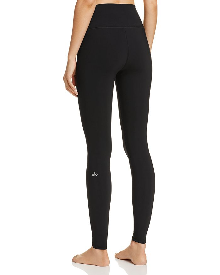 1424c1d2a0 Alo Yoga High-Waist Ripped Warrior Leggings | Bloomingdale's