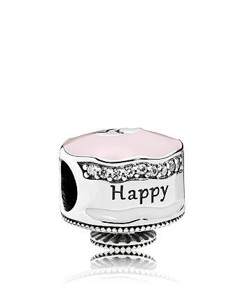 Miraculous Pandora Sterling Silver Cubic Zirconia Happy Birthday Cake Charm Birthday Cards Printable Opercafe Filternl