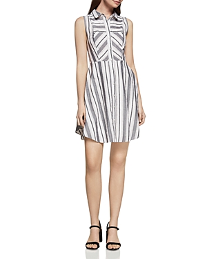 BCBGeneration Stripe Shirt Dress