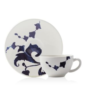 Gien Indigo Teacup and Saucer