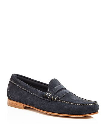 G.H. Bass & Co. - Men's Larry Suede Penny Loafers - 100% Exclusive