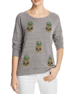 Aqua x Lauren Moshi Pineapple Skull Pullover - 100% Exclusive