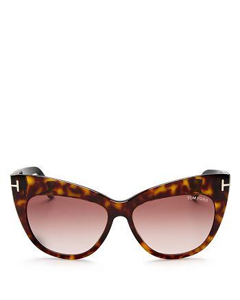Tom Ford - Women's Nika Cat Eye Sunglasses, 55mm