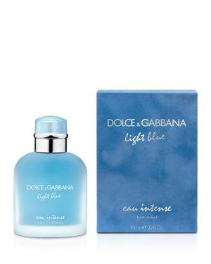 DOLCE & GABBANA Light Blue Eau Intense Pour Homme 3.3 Oz/ 100 Ml Eau De Parfum Spray