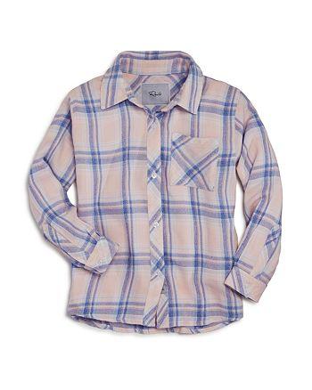 Rails - Girls' Hudson Button Down Shirt - Little Kid, Big Kid