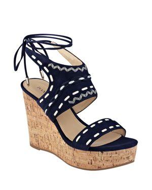 Ivanka Trump Zader Platform Wedge Sandals