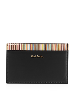 Paul Smith Multistripe Leather Card Case