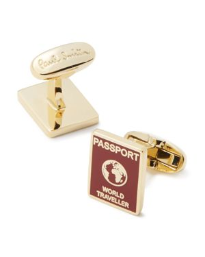Paul Smith Passport Cufflinks