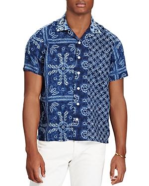Polo Ralph Lauren Classic Fit Button-Down Camp Shirt