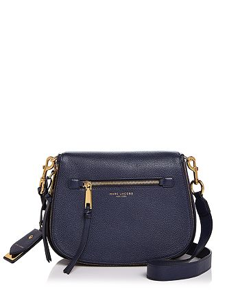 ca1701c1eef0 MARC JACOBS - Recruit Nomad Leather Saddle Bag