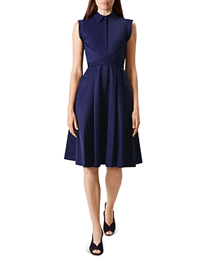 Hobbs London Gables Wrap-Waist Dress