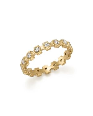 Armenta 18K Yellow Gold Sueno Diamond Stacking Ring