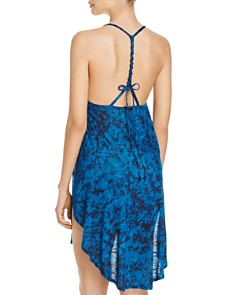 Lucky Brand - Batik Chic Dress Swim Cover-Up