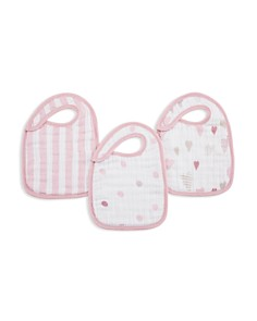 Aden and Anais - Heart Breaker Bibs, 3 Pack
