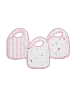 Aden and Anais Heart Breaker Bibs, 3 Pack