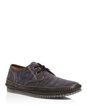 John Varvatos Star Usa Hester Lace-Up Boat Shoes 2577980