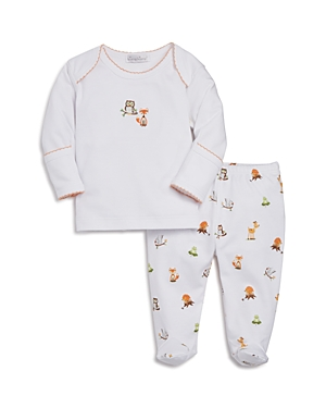 Kissy Kissy Unisex Winter Woodland Top & Footed Pants Set - Baby