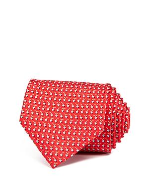 Salvatore Ferragamo Cherries Neat Classic Tie