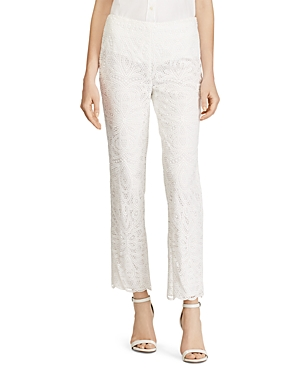 Lauren Ralph Lauren Lace Ankle Pants