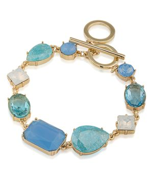 Carolee Stone Toggle Bracelet