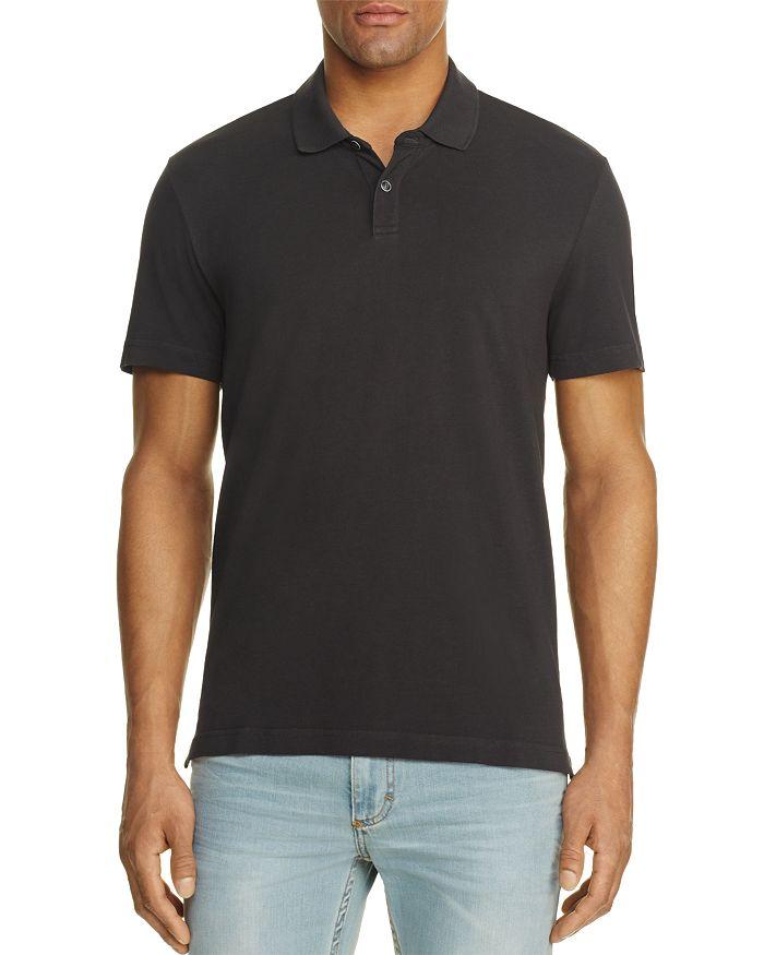 Velvet Willis Regular Fit Polo Shirt In Exhaust Gray
