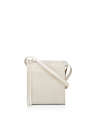 Elizabeth and James Sara Embossed Leather Crossbody