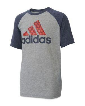 Adidas Boys' Performance Raglan Tee - Little Kid