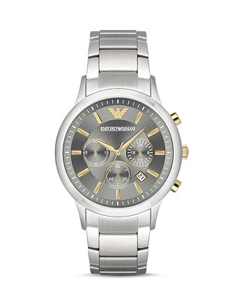 Emporio Armani - Chronograph Stainless Steel Watch, 43 mm
