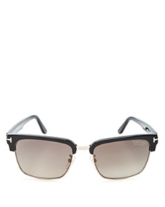 Tom Ford - Men's Polarized River Square Sunglasses, 57mm