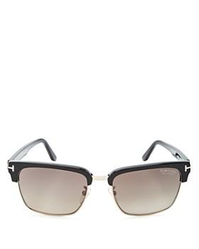 Tom Ford - Men's Polarized River Square Sunglasses, 57mm