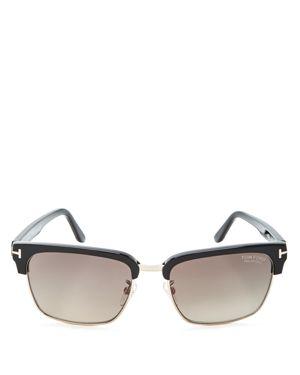 Tom Ford Polarized River Square Sunglasses, 57mm