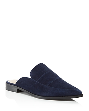 Charles David Porter Suede Mules