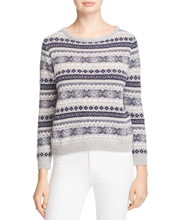 $Barbour Audrey Boat Neck Sweater - Bloomingdale's