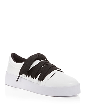 Senso Arna Leather Lace Up Platform Sneakers