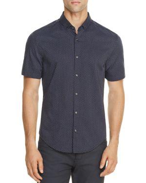Boss Green C Bonettino Dot Slim Fit Button-Down Shirt