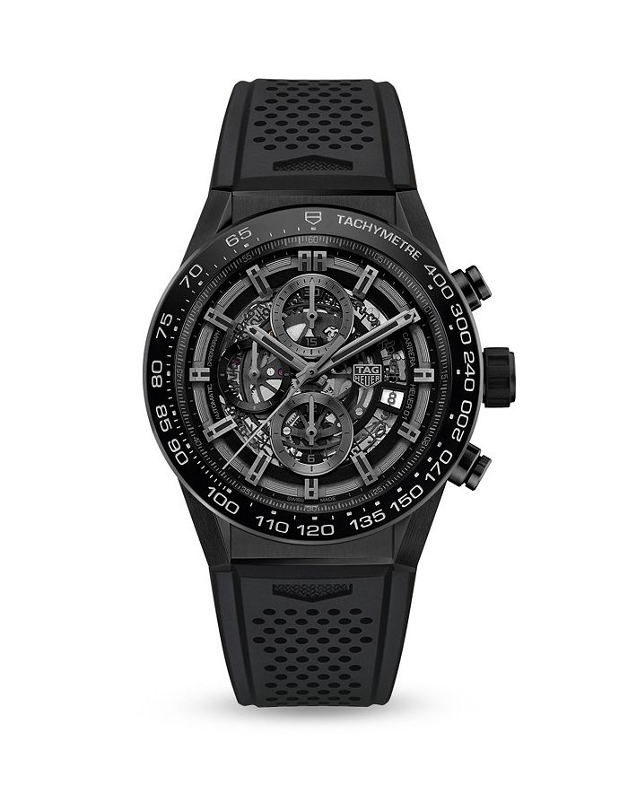 TAG Heuer - Carrera Skeleton Chronograph, 45mm