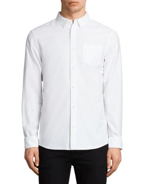 Allsaints Stukeley Slim Fit Button-Down Shirt