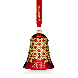 Waterford Nostalgic Alana Bell Ornament 2017