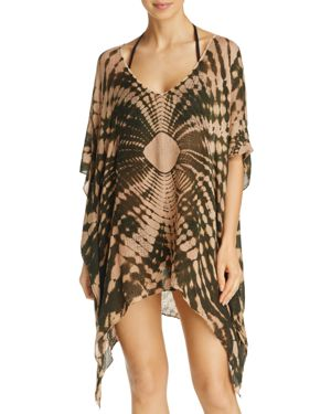 Blue Life Cape Cool V-Neck Dress Swim Cover-Up