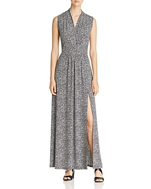 Michael Michael Kors Floral Print Maxi Dress