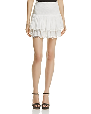 Aqua Pom-Pom Skirt - 100% Exclusive