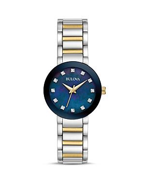 Bulova Modern Two-Tone Watch, 26mm