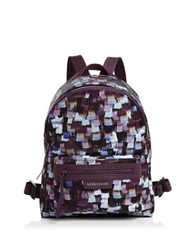 Longchamp - Le Pliage Neo Printed Small Backpack