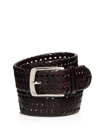 Trafalgar - Enzo Braided Leather Belt