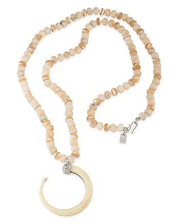 "Ralph Lauren - Bone Pendant Necklace, 36"""
